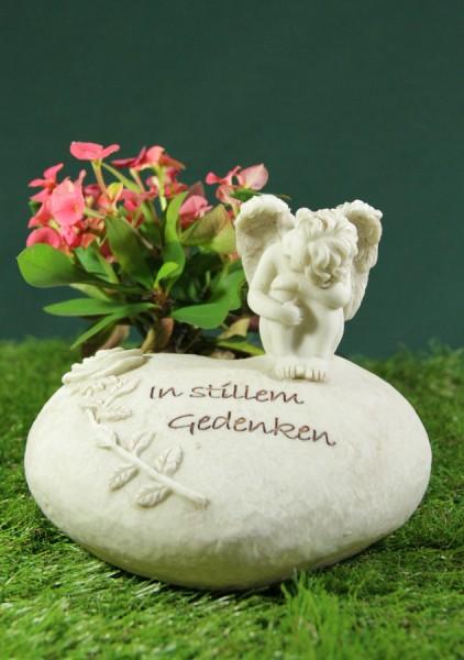 """Grabherz mit Engel """"In stillem Gedenken"""""""