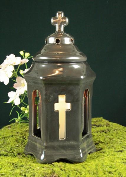 Grablicht mit Kreuz