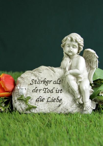"""Grabengel """"Stärker als der Tod, ist die Liebe"""""""