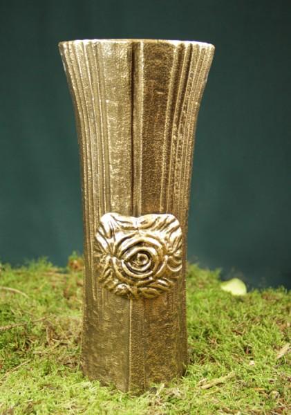 Grabvase kaufen | mit Blume | 27 cm hoch |