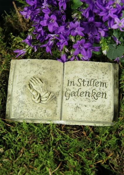 Grabbuch mit Dürrers betenden Händen