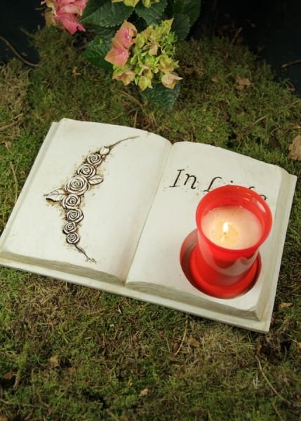"""Buch """"In Liebe"""" für Grablicht"""