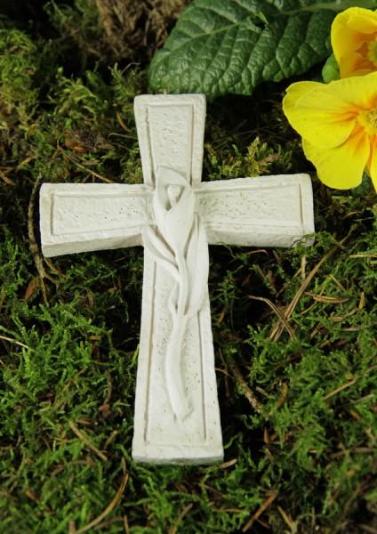 Grabkreuz mit Calla
