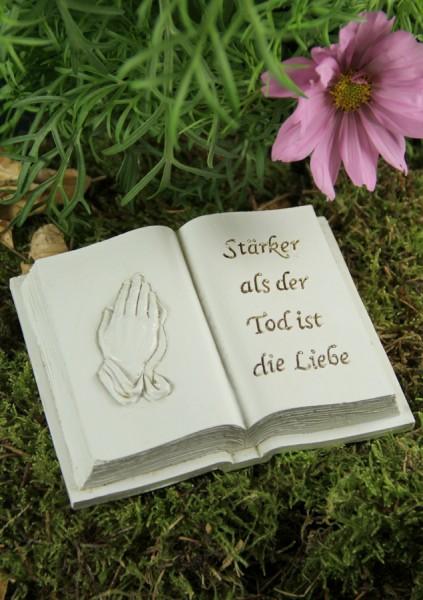 Grabbuch kaufen   betende Hände   10x12 cm  